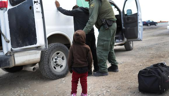 Estados Unidos detiene a más de 100.000 personas en marzo en frontera con México. Foto: Archivo de AFP