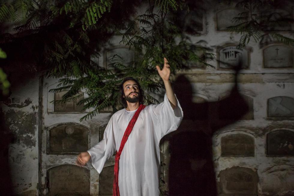 Pasión y Muerte de Jesús en el Cementerio y Museo Presbítero Maestro