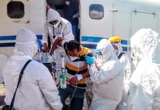 Loreto: médicos y enfermera con COVID-19 fueron evacuados de emergencia a Iquitos