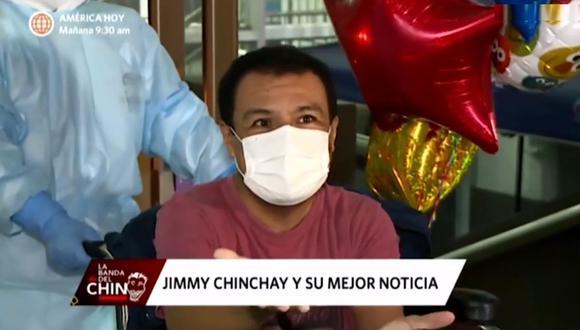 Jimmy Chinchay habla sobre lo que significó vencer el COVID-19. (Foto: Captura de video)