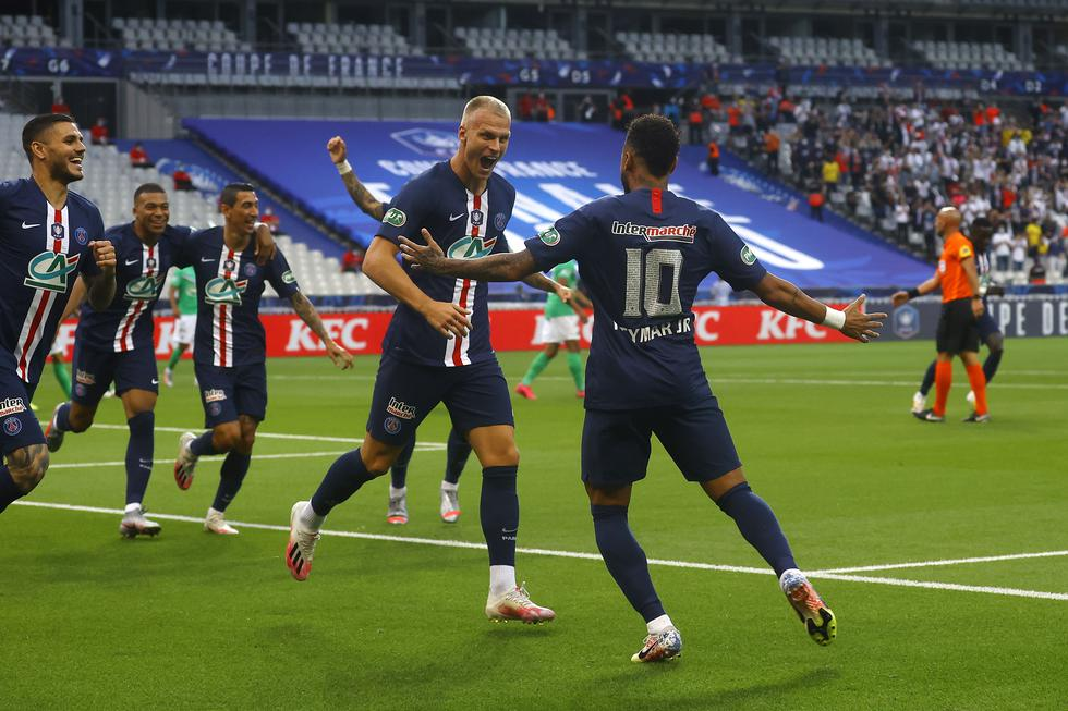 Los mejores momentos de la final de la Copa de Francia | Foto: EFE
