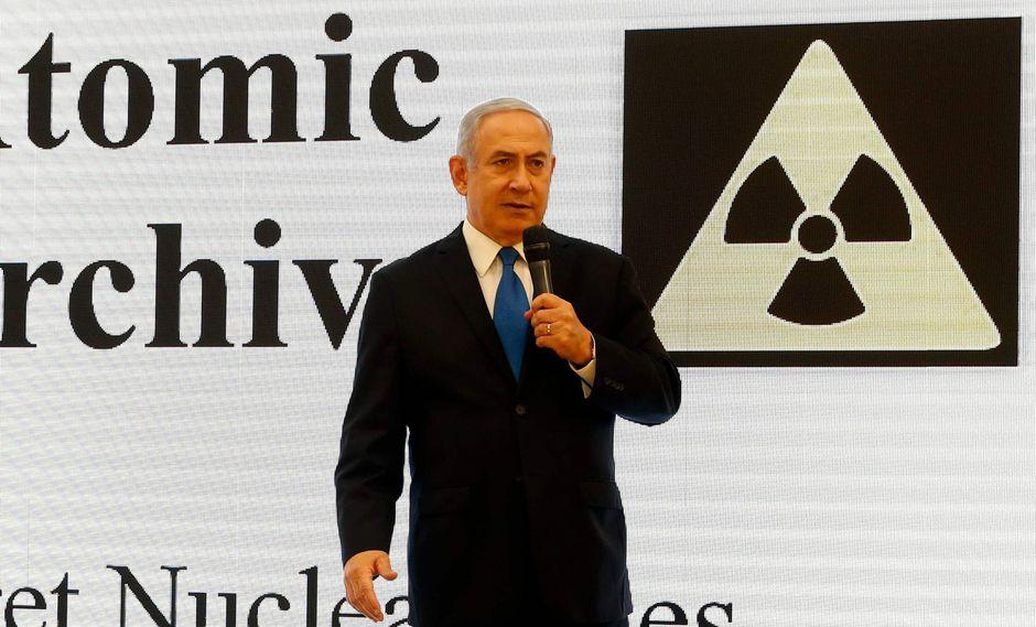 """Israel: Benjamin Netanyahu asegura que Irán miente y tiene un """"programa nuclear secreto"""". (AFP)."""