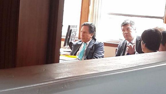 Alejandro Toledo ya es interrogado por el Caso Ecoteva