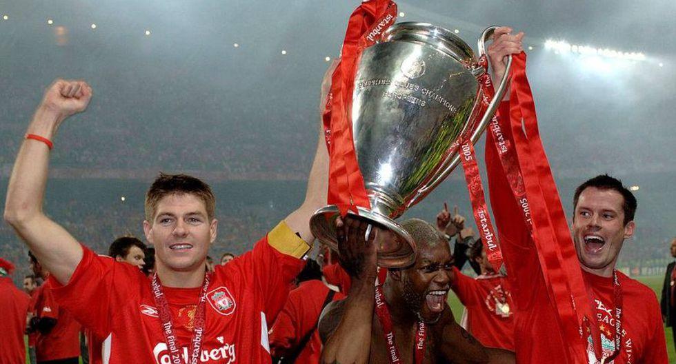 Steven Gerrard cumple 36 años y así lo recuerda la UEFA [FOTOS] - 7
