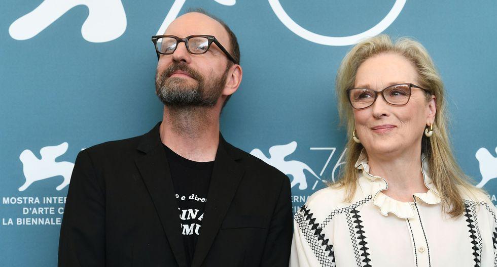 Meryl Streep y Steven Soderbergh. (Foto: AFP)