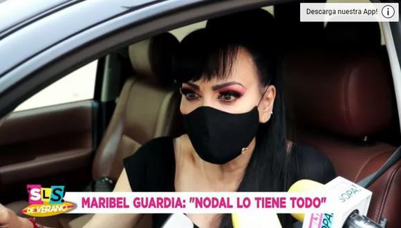 Maribel Guardia defiende a Belinda de las críticas por su noviazgo con Christian Nodal. (Foto: Captura de pantalla)