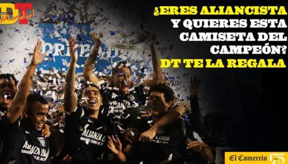 Gana la camiseta con la que Alianza levantó el Torneo del Inca