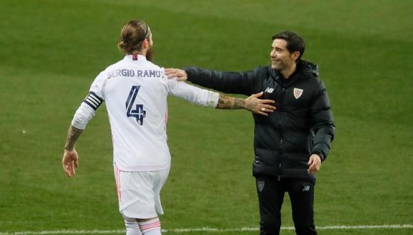 Sergio Ramos tiene contrato con el Real Madrid hasta junio de 2021 (Foto: EFE)