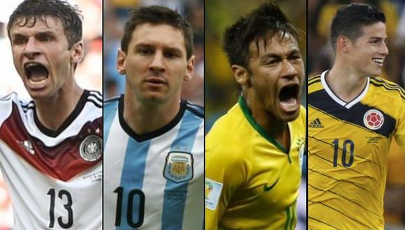 Brasil 2014: James Rodríguez terminó como goleador del Mundial