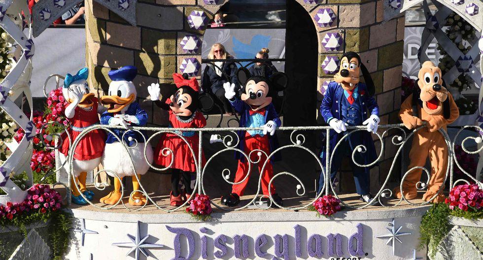 Artículos de Disneyland serán subastados. (Foto: AFP)