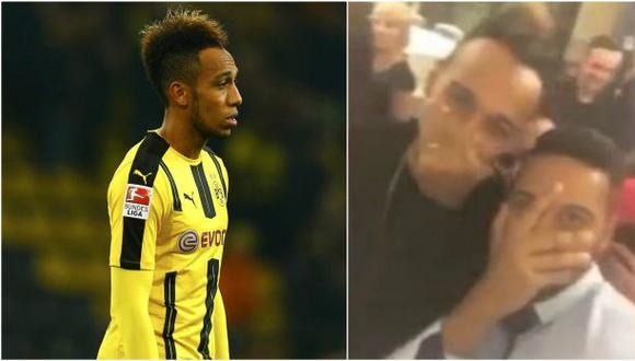 Borussia Dortmund suspendió a Aubameyang por irse de fiesta