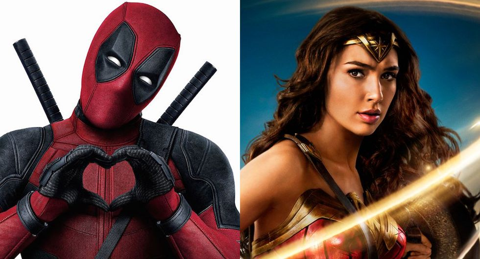 """""""Wonder Woman"""" y """"Deadpool"""", personajes unidos en redes sociales por Ryan Reynolds. (Fotos: Difusión)"""