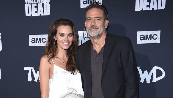 """Hilarie Burton (izquierda) se une a su esposo Jeffrey Dean Morgan en """"The Walking Dead"""". (Foto: AFP/ LISA O'CONNOR)"""