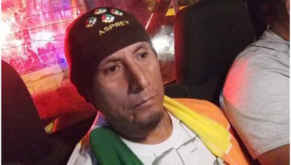 El ex soldado del Ejército Eddy Villarroel Medina, conocido como 'Sacha', fue detenido el lunes por conspiración, afiliación y apología del terrorismo.