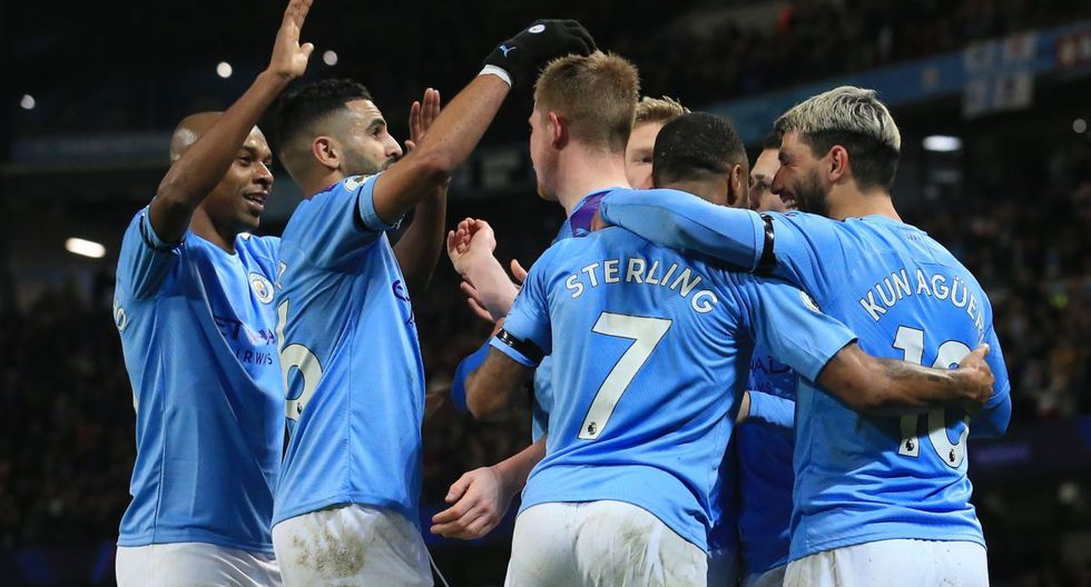 Manchester City venció 2-0 a Sheffield United por la Premier League. (Foto: AFP)