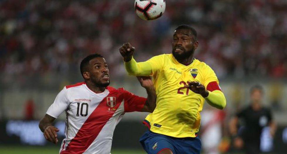 Jefferson Farfán explicó así la derrota de Perú ante Ecuador. (Foto: Selección peruana)