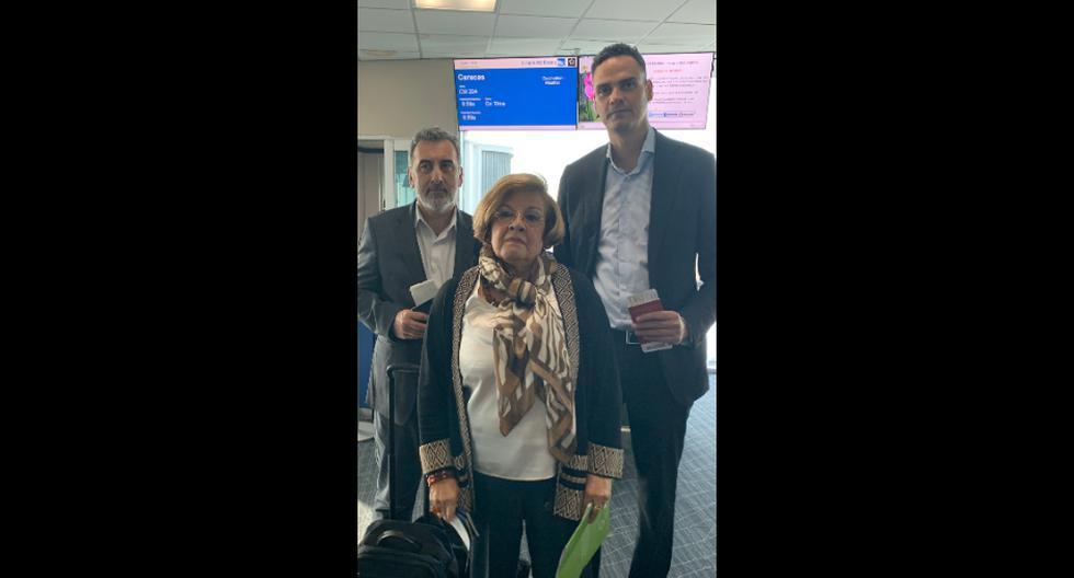 """Una delegación de la CIDH que pretendía visitar Venezuela no puedo abordar el vuelo este martes en Panamá porque el """"régimen de Venezuela"""" no autorizó su ingreso al país. (Foto: @CIDH)"""