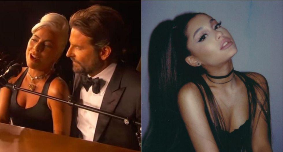 """""""Shallow"""" de Lady Gaga y Bradley Cooper superó a """"7 Rings"""" de Ariana Grande. (Foto: Composición)"""