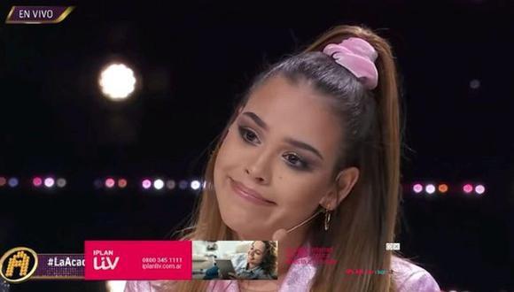 """A comienzos de año, Danna Paola encaró a Gibrán, uno de los ex participantes de """"La Academia"""", por insultarla detrás de cámara (Foto: TV Azteca)"""