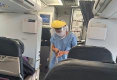 Congresista Carmen Omonte denuncia falta de protocolos sanitarios en vuelos nacionales