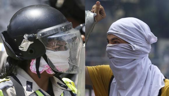 Disturbios en protestas contra Maduro dejan 17 heridos [VIDEOS]