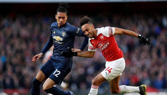 Manchester United vs. Arsenal EN VIVO: jugarán este domingo en Londres por la Premier League. (Foto: AFP)