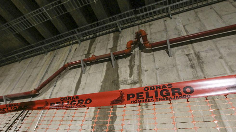 Tras los reportes de fisuras y filtraciones, detectadas por el Ministerio Público y por la Contraloría en diciembre del año pasado, hoy se realizó una nueva inspección al túnel del proyecto Línea Amarilla.