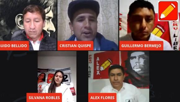 """""""Narcotráfico y hoja de coca milenaria"""", se tituló el encuentro de Perú Libre. (Video: Perú Libre)"""