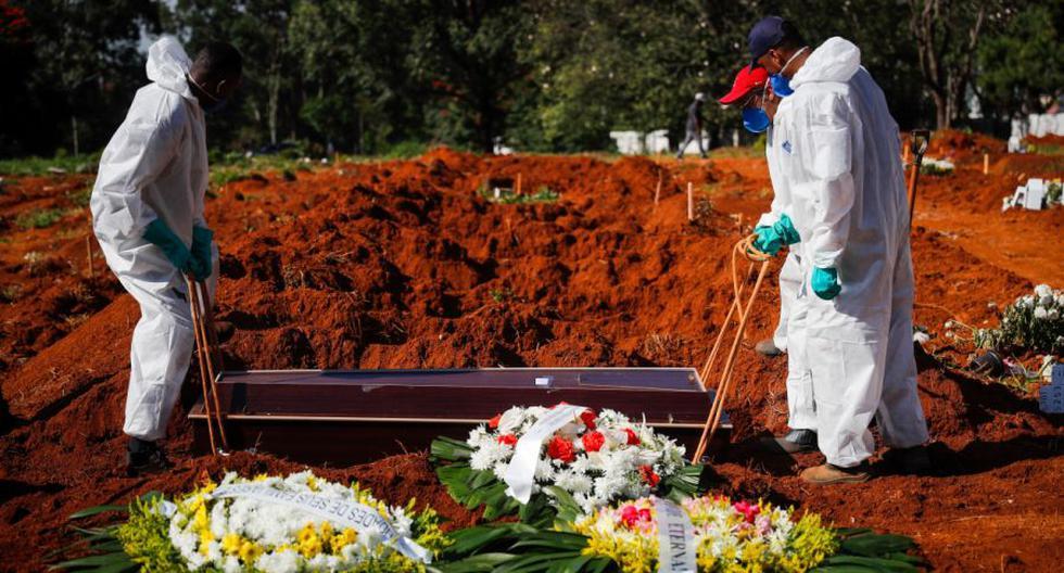 Coronavirus en Brasil   Últimas noticias   Último minuto: reporte de infectados y muertos por COVID-19 hoy, domingo 18 de abril del 2021. (Foto: EFE/ Fernando Bizerra/Archivo).