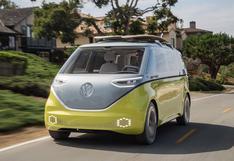 La icónica combi de Volkswagen revive ahora como eléctrica   FOTOS