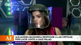 Alejandra Baigorria hace caso omiso a predicciones sobre su vida amorosa
