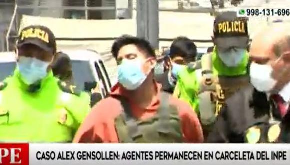 Los agentes de seguridad investigados por homicidio simple serán internados en un penal de Lima | Captura: América Noticias