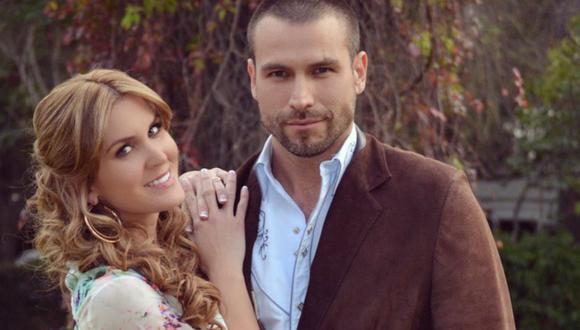 Verónica Montes fue involucrada con Rafel Amaya y la actriz solo ha dicho que se trato de trabajo (Foto: Telemundo)