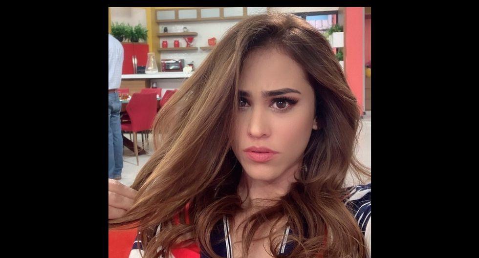 La presentadora Yanet García compartió en Instagram una foto que se hizo popular en unas pocas horas. (@iamyanetgarcia)