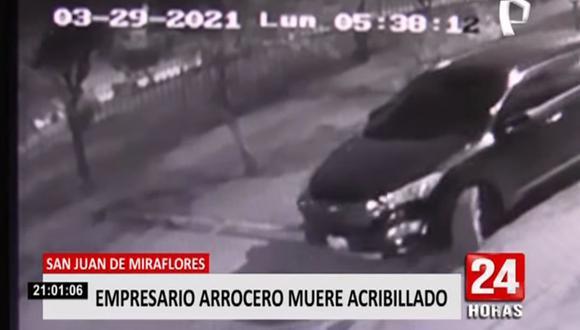 Carlos Poma Rodríguez (50) se encontraba en la cuadra 4 del jirón Gregorio Montes cuando fue interceptado y atacado por unos sujetos que se desplazaban en una camioneta. (Foto: captura de video Panamericana)