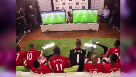 Partido en el FiFA 17 'dividió' al Manchester United [VIDEO]