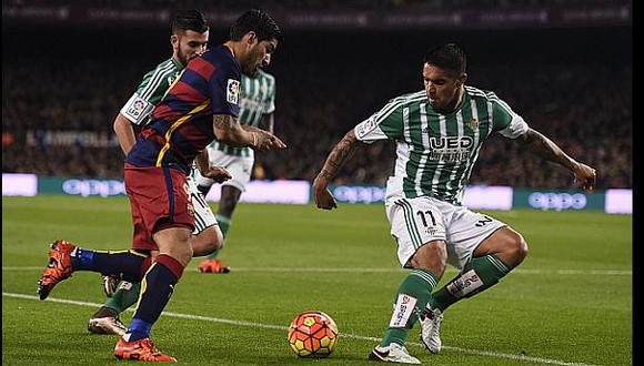 Juan Vargas: el peruano está en el once ideal de la Liga BBVA
