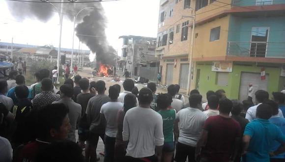 Esta mañana se presentaron una serie de protestas tras el crimen de una joven periodista. (Foto: PNP)
