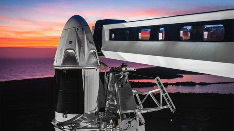 El Dragon emplea infraestrcutura que ya se usó para las misiones Apollo a la Luna, aunque con grandes modificaciones. (Foto: Space X)