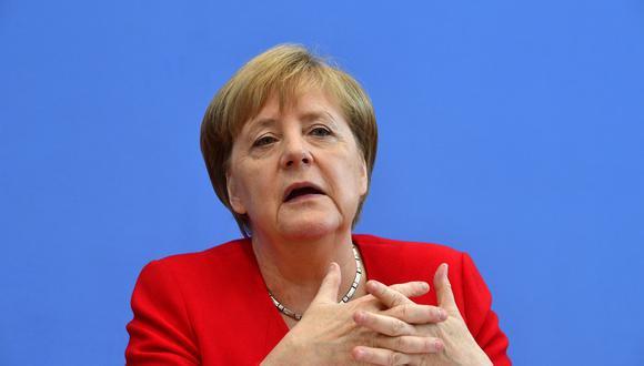 """""""El gobierno alemán espera la rápida liberación de las personas detenidas"""", declaró ante la prensa una portavoz de la canciller Angela Merkel. (Foto: AFP)"""