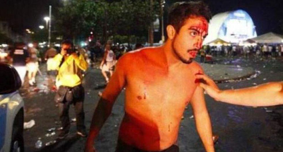 Copacabana: Argentinos y brasileños se enfrentan en las calles - 1
