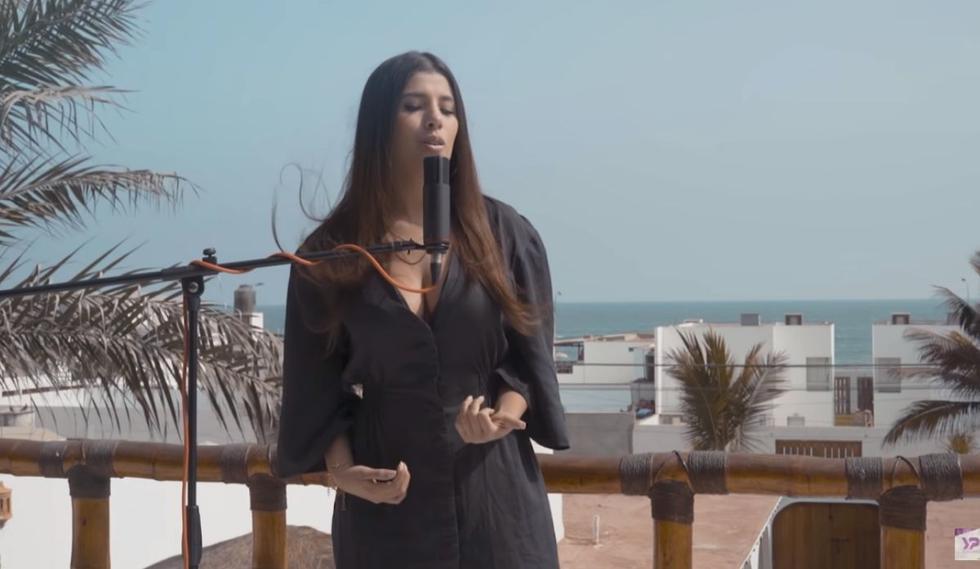 """Yahaira Plasencia expresó su emoción en redes sociales por el lanzamiento del videoclip de """"Gracias mi Dios"""". (Foto: Captura de pantalla / YouTube)."""