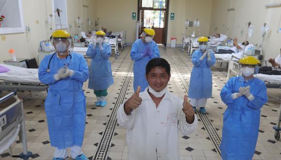 La cantidad de pacientes recuperados aumentó este miércoles. (Foto: Minsa)