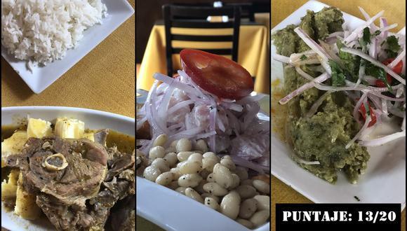 Algunos de los platos que puedes encontrar en La Paisana.