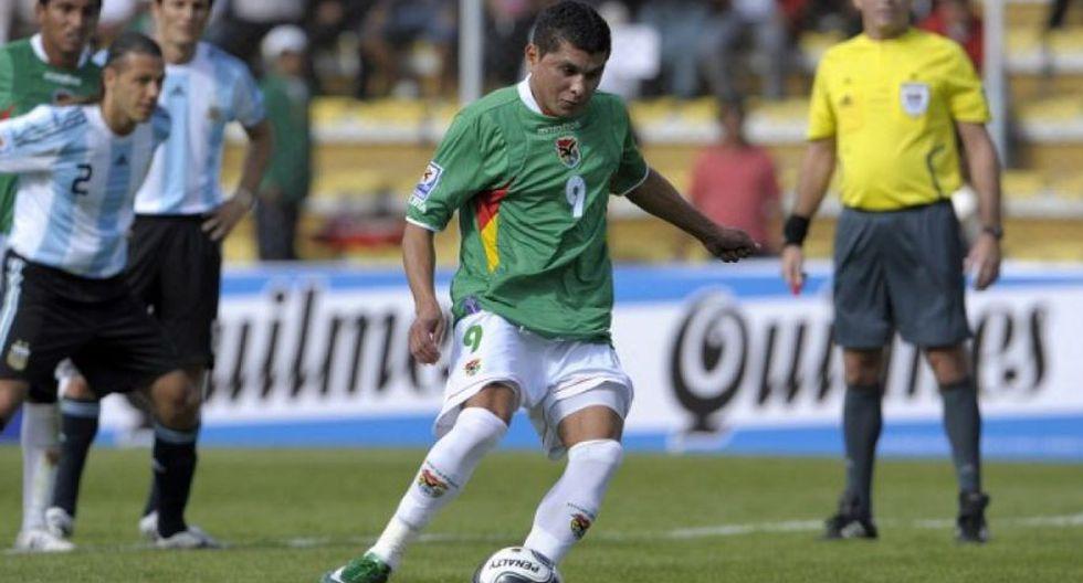 Por las Eliminatorias Sudáfrica 2010, Joaquín Botero anotó un hat-trick en la goleada 6-1 de Bolivia sobre Argentina. (Foto: Agencias)