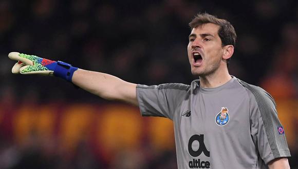 Iker Casillas fue dado de bajo por el Porto para terminar esta temporada. (Foto: Reuters)