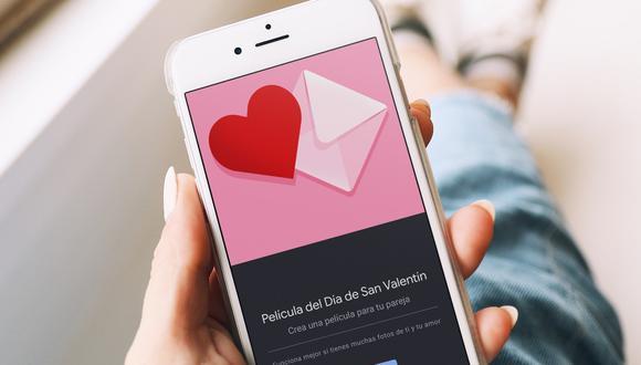 Google Fotos nos deja crear una película de San Valentín con fotos y videos de nuestro carrete. (Foto: unsplash)
