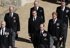 Peter Phillips, el elegido para mantener la distancia entre William y Harry en el funeral de Felipe de Edimburgo