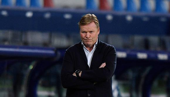 Barcelona tendría en la mira a dos técnicos argentinos para reemplazar a Ronald Koeman. REUTERS/Pablo Morano