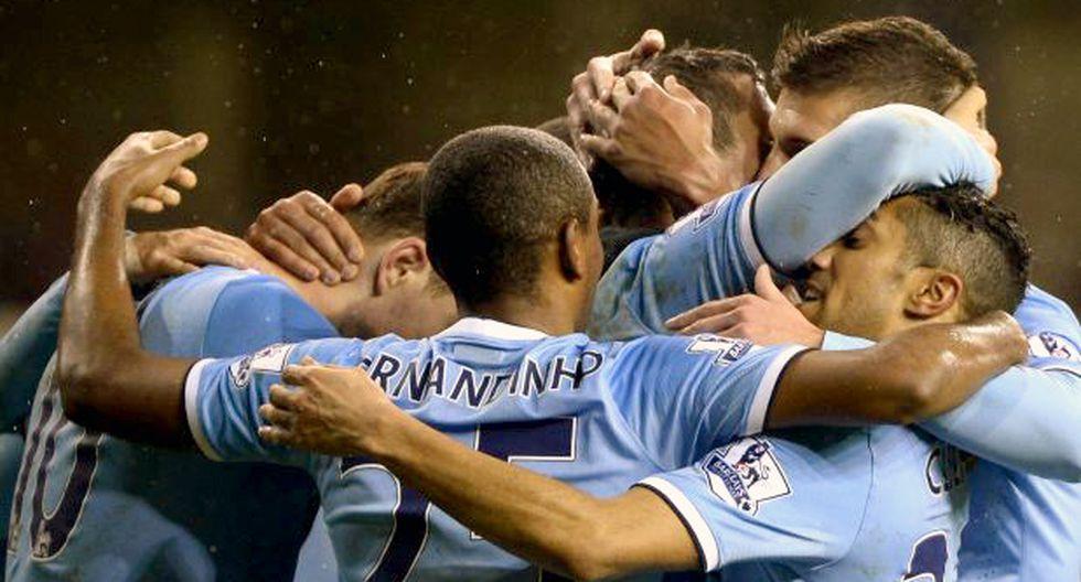 El City goleó 5-1 al Tottenham y es nuevo líder de la Premier